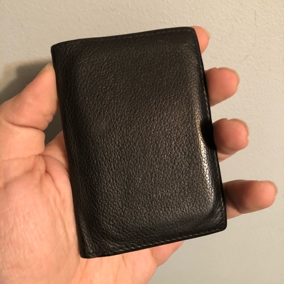 0fb0acd508fc Hermes Bags | Mc2 Euclide Card Wallet Black | Poshmark